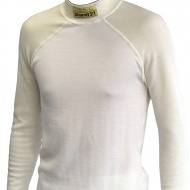 Stock natural white HSC underwear top