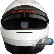 Porsche Motorsport IVOS-Air Force helmet with SNELL SA 2010 standard