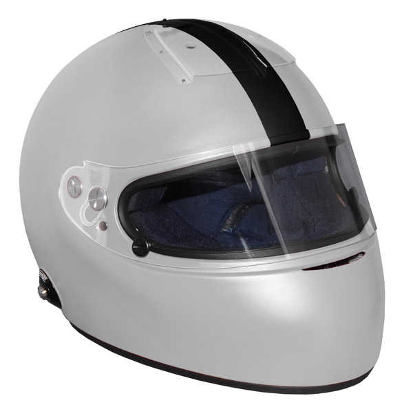 Stock grey Vintage IVOS-Double Duty helmet with visor