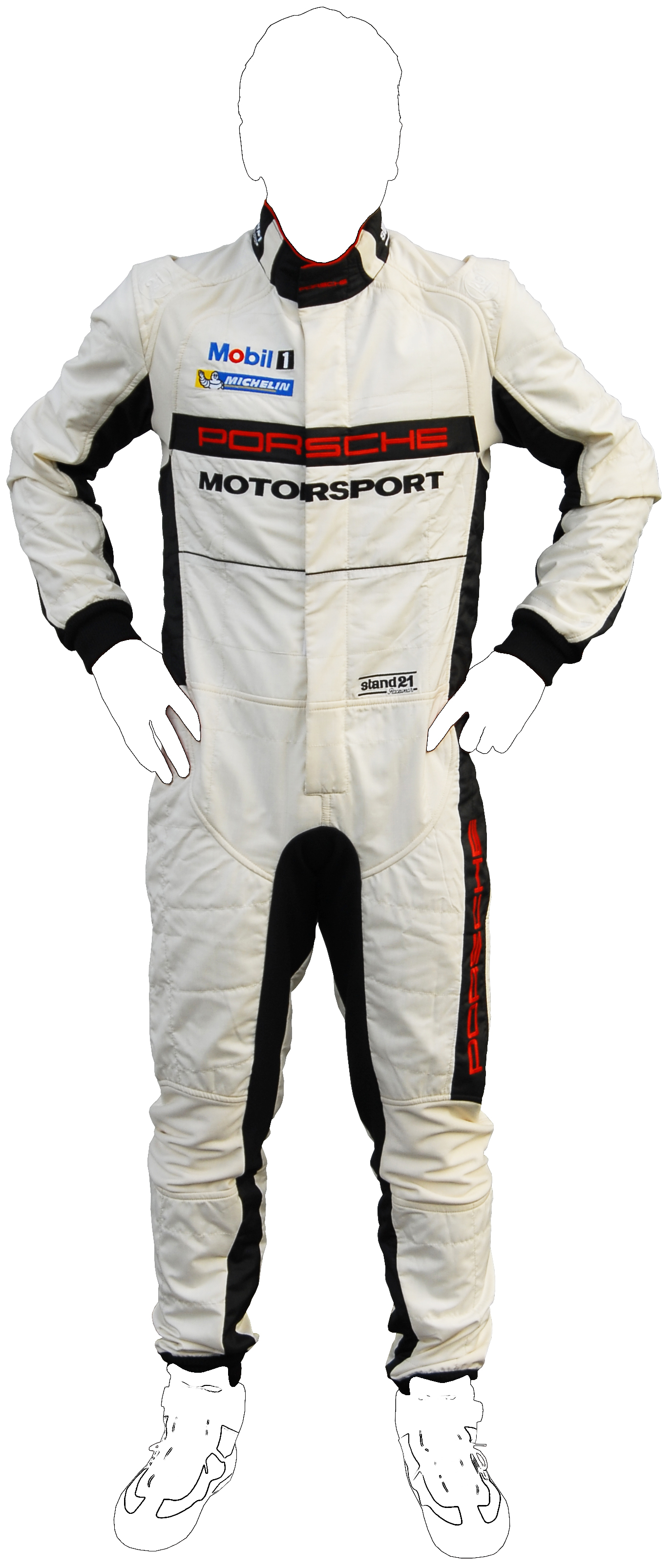 Stock Porsche Motorsport La Couture racing suit