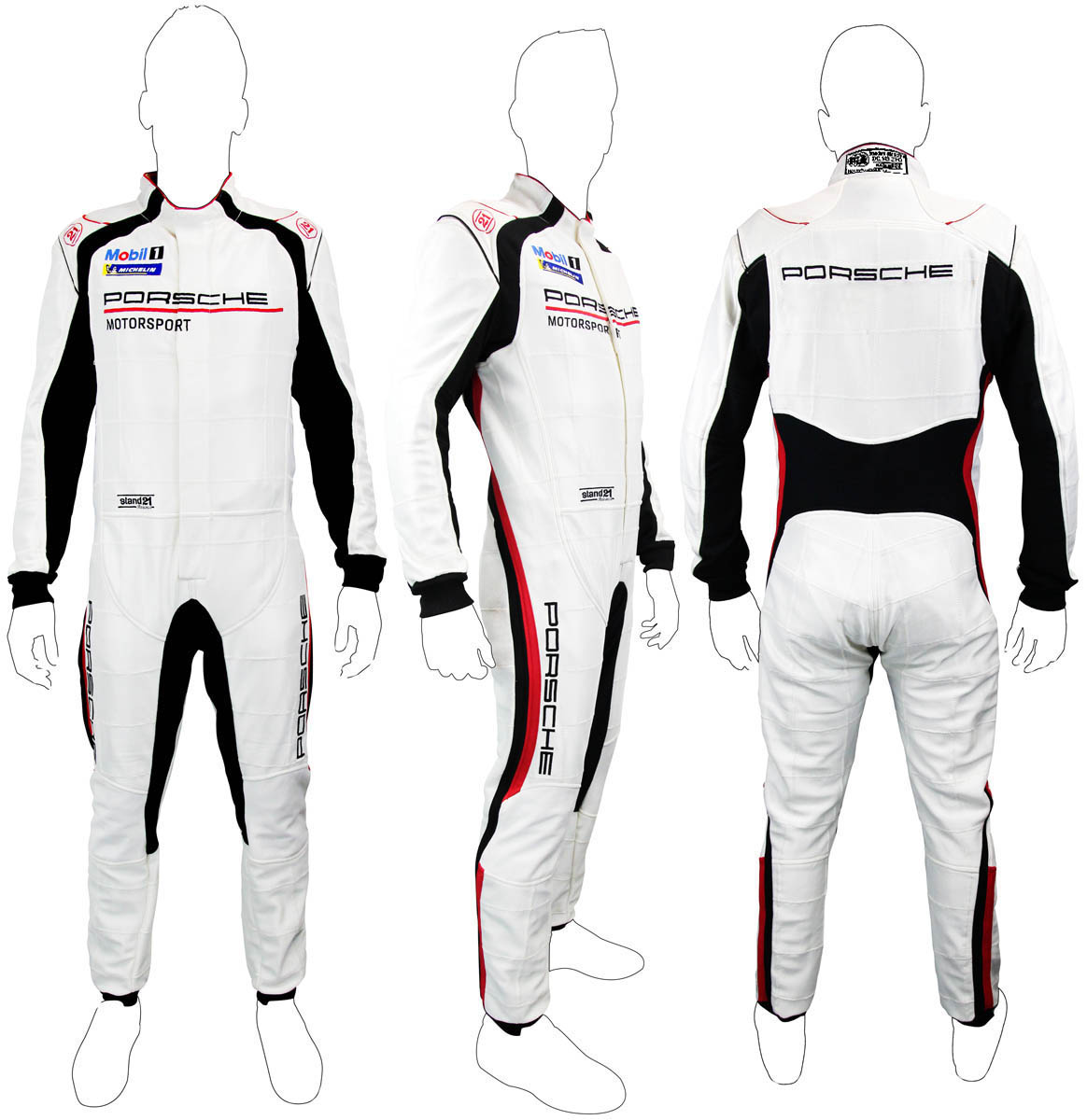 Stock Porsche Motorsport La Couture HSC racing suit