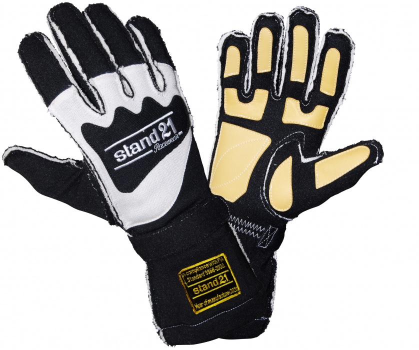Stock black Outside Seams II gloves
