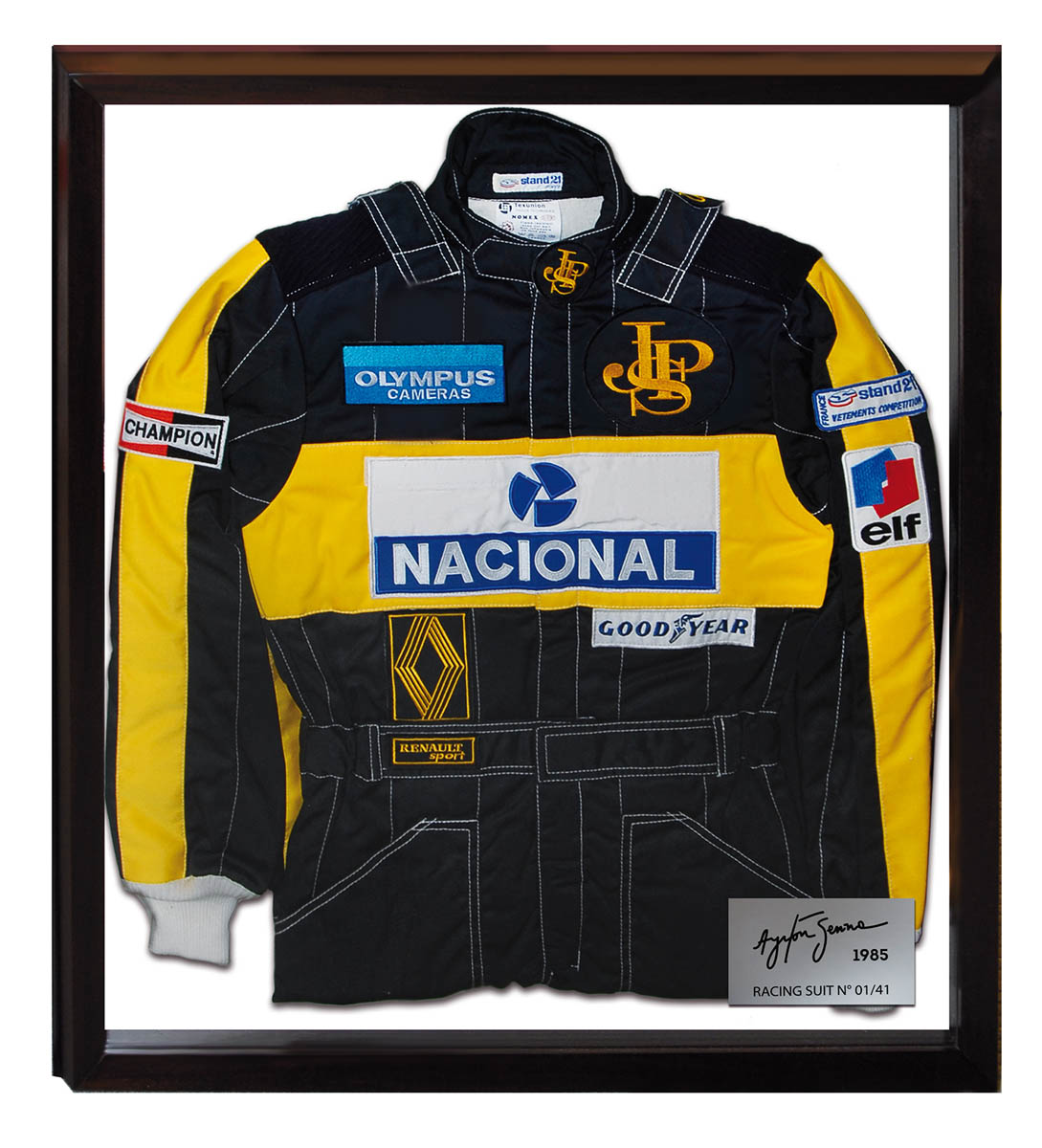 Ayrton Senna Limited Edition suit