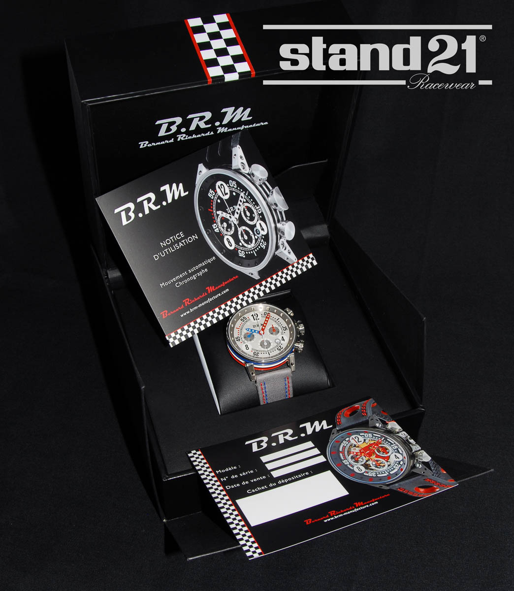 V12-44 Stand 21 Watch by B.R.M. Chronographes