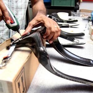 fixing hans device